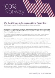 Win the Ultimate in Norwegian Living Room Chic