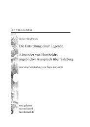 Robert Hoffmann - Salzburger Nachrichten