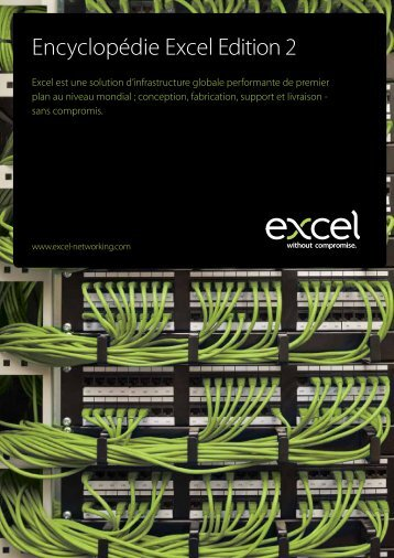 Encyclopédie Excel Edition 2 - Excel Cabling - Excel networking