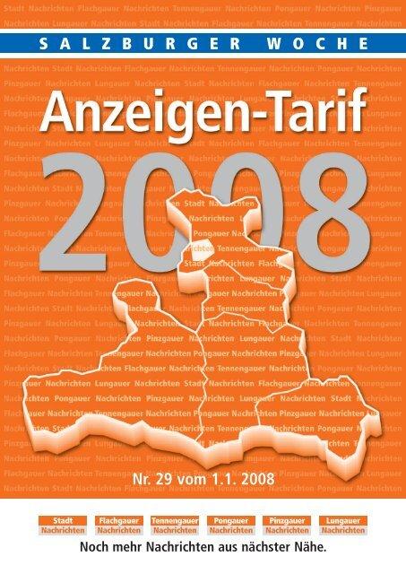 8 Regionen 2008 - Salzburger Nachrichten