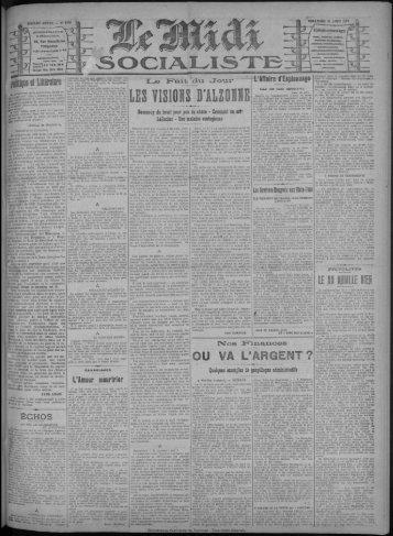 OU VA L'ARGENT ? - Bibliothèque de Toulouse