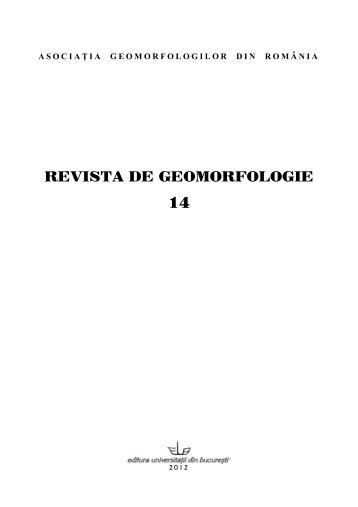 UNIVERSITATEA DIN BUCUR+ETI - Facultatea de Geografie
