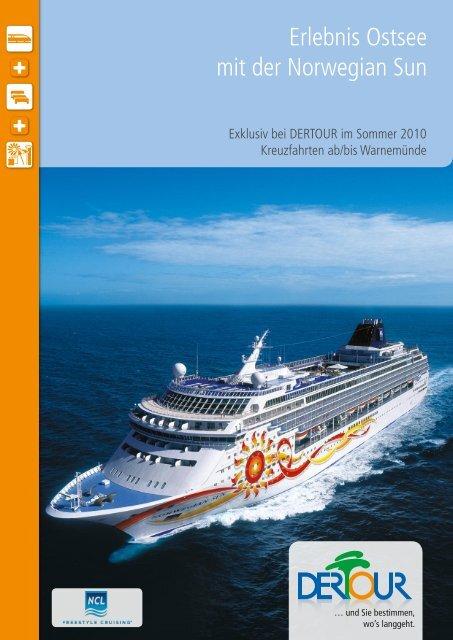 Erlebnis Ostsee mit der Norwegian Sun
