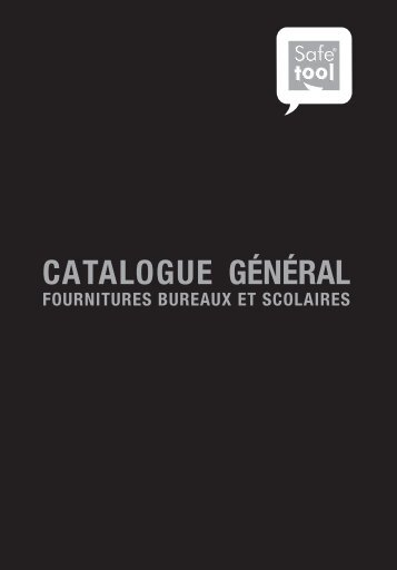 Télécharger le Pdf du catalogue - Safetools