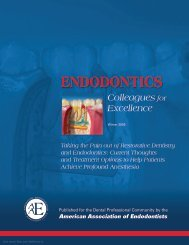 Taking the Pain out of Restorative Dentistry and Endodontics