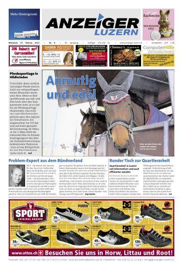 Anzeiger Luzern, Ausgabe 08, 27. Februar 2013