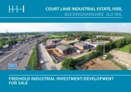 court lane industrial estate, iver, buckinghamshire ... - Capita Symonds
