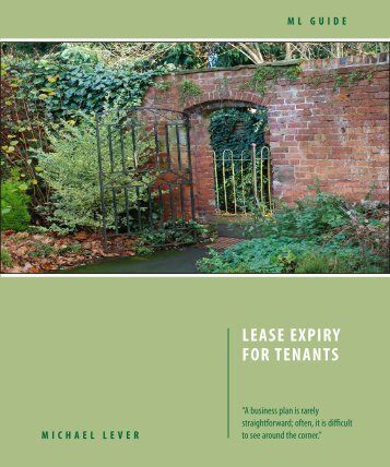 ML Guide - Lease Expiry for Tenants - Michael Lever