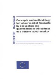 Concepts and methodology for labour market forecasts by ...