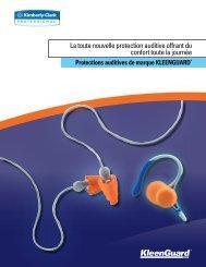 La toute nouvelle protection auditive offrant du confort toute la journée