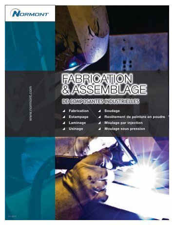 FABRICATION & ASSEMBLAGE - Normont Systems
