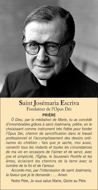 Saint Josémaria Escriva - Saint Josemaria Escriva