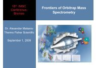 Frontiers of Orbitrap Mass Spectrometry - Thermo Scientific