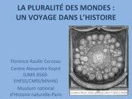 la pluralité des mondes - Université de Poitiers