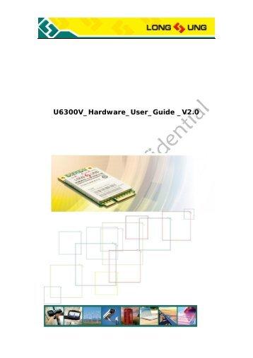U6300v hardware user guide v2 - More Product...