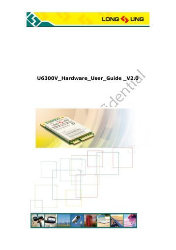 U6300v hardware user guide v2 - More Product...