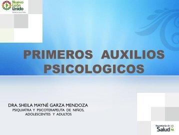 Primeros Auxilios Psicológicos (PAP) 1.