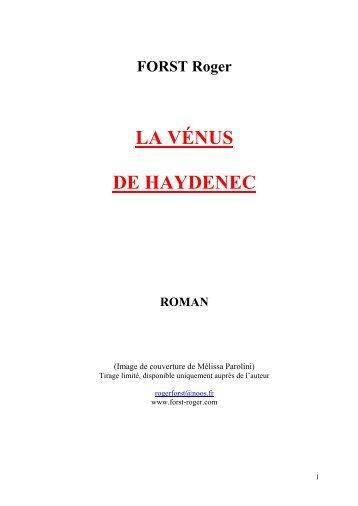 LA VENUS DE HAYDENEC (fichier pdf 0 - FORST Roger