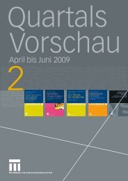 April bis Juni 2009 - VS Verlag