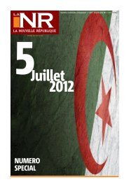 5 Juillet - La Nouvelle République