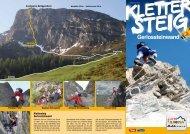 Klettersteig Gerlosstein - Zillertal Arena