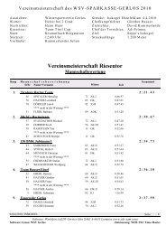 Infos / Ergebnisse downloaden - Zillertal Arena