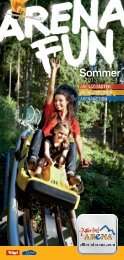 Sommer - Zillertal Arena