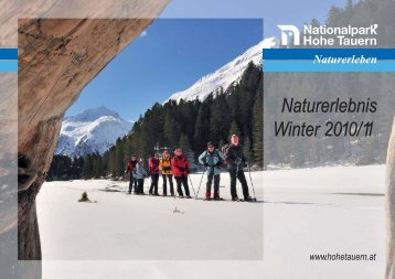 Nationalpark-Programm - Zillertal Arena