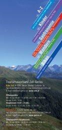 Zell-Gerlos A-Z - Zillertal Arena