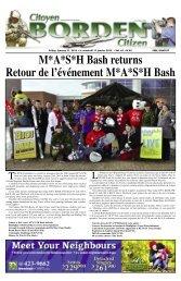 M*A*S*H Bash returns Retour de l'événement M*A*S*H Bash