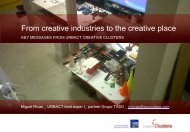 From creative industries to the creative place - APCI