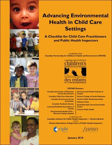 Advancing Environmental Health in Child Care Settings - Canadian ...