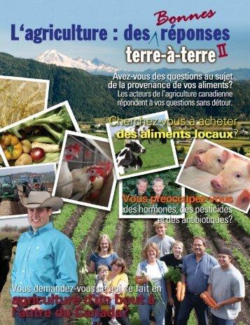 des Bonnes Réponses Terre-à-Terre II - Agriculture in Classroom ...