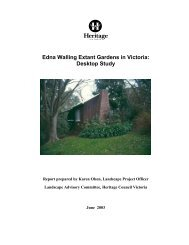Edna Walling Extant Gardens in Victoria - Department of Planning ...