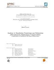 Analyse et Simulation Numérique par Relaxation d ... - CMI
