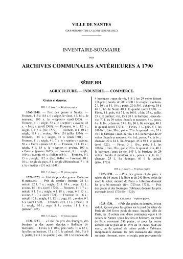intégralité au format PDF - Archives municipales de Nantes