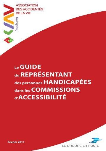 Télécharger le Guide de l'accessibilité - Fnath