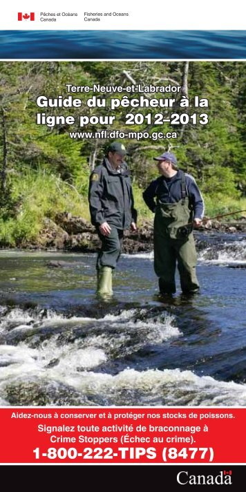 version de PDF - Newfoundland and Labrador Region - Pêches et ...