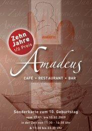 ehn Jahre Amadeus Zehn Jahre Am Amadeus Zehn Jahre Amadeus ...