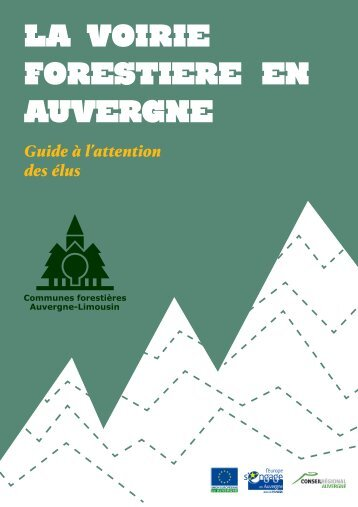 La voirie forestière en Auvergne - Fédération nationale des ...