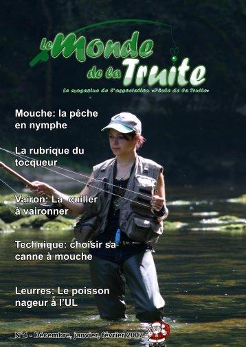 Pêche de la - Le Monde de la Truite