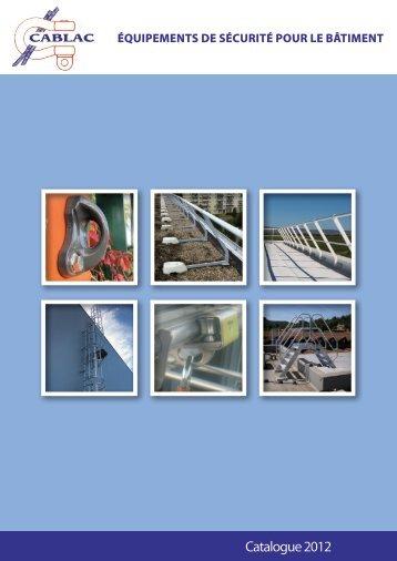 Télécharger notre catalogue sécurité - Cablac.fr