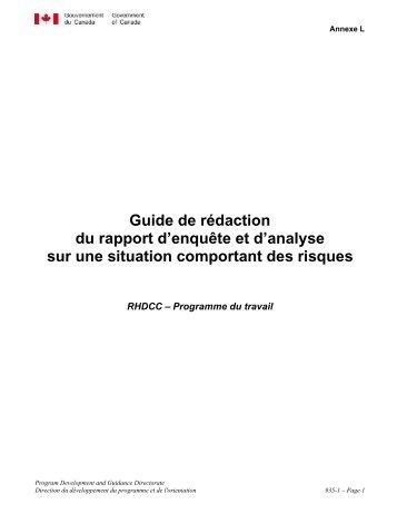 Guide de rédaction du rapport et de soutenance - …