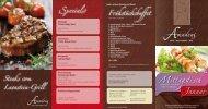 Specials Frühstücksbuffet - Amadeus