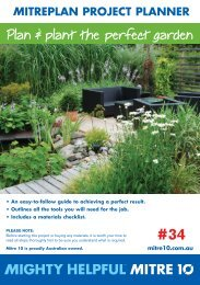 Plan & plant the perfect garden lant the garden - Mitre 10