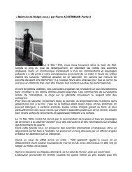 CHRONIQUE ACKERMANN Pierre 4 - Malgré-Nous