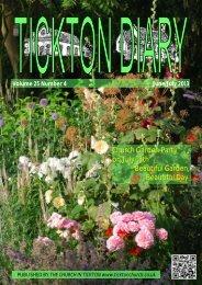 Church Garden Party on July 13th Beautiful Garden ... - Tickton Church