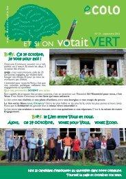 n°21 - septembre 2012 - Mettet - Ecolo