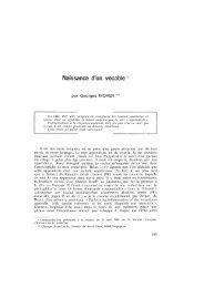 Naissance d'un vocable - Bibliothèque interuniversitaire de médecine