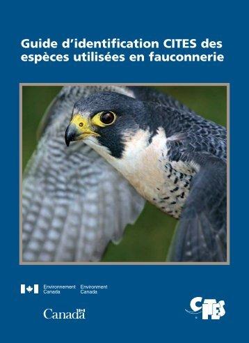 Guide d'identification CITES des espèces utilisées en fauconnerie
